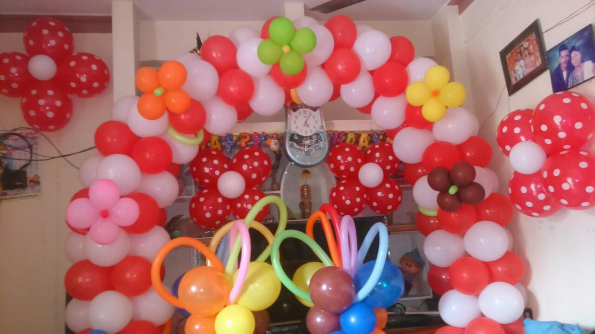 Balloon Decoration in vizag Balloon Decorators in vizag